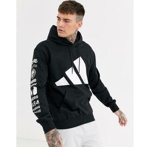 Adidas mountain logo hoodie